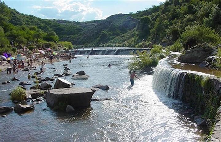 rio de mina clavero